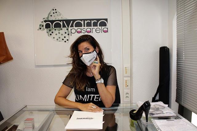 Rosalía Navarro, gerente de la agencia de modelos Navarro Pasarela.