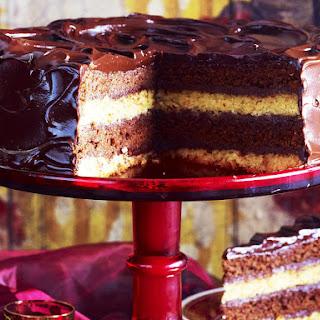 Double-Decker Chocolate Mud Cake