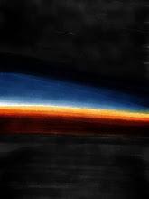 """Photo: """"Chased Sunset"""" 2.23.13 digital 8x10"""
