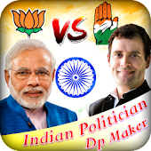 Indian Political Party Dp Maker