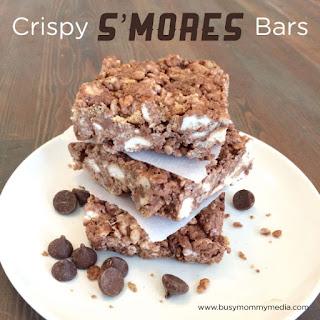 Crispy S'mores Bars