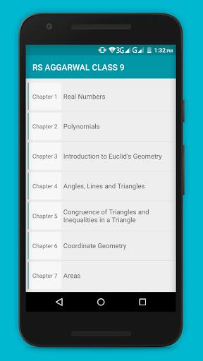 RS Aggarwal Maths Class 9 Solution  screenshots 1