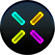 App Icon for EXA Neon Icon Pack App in United Arab Emirates Play Store
