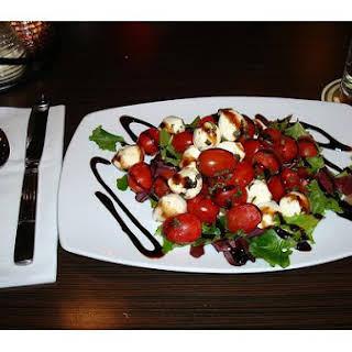 Balsamic Reduction Salad.