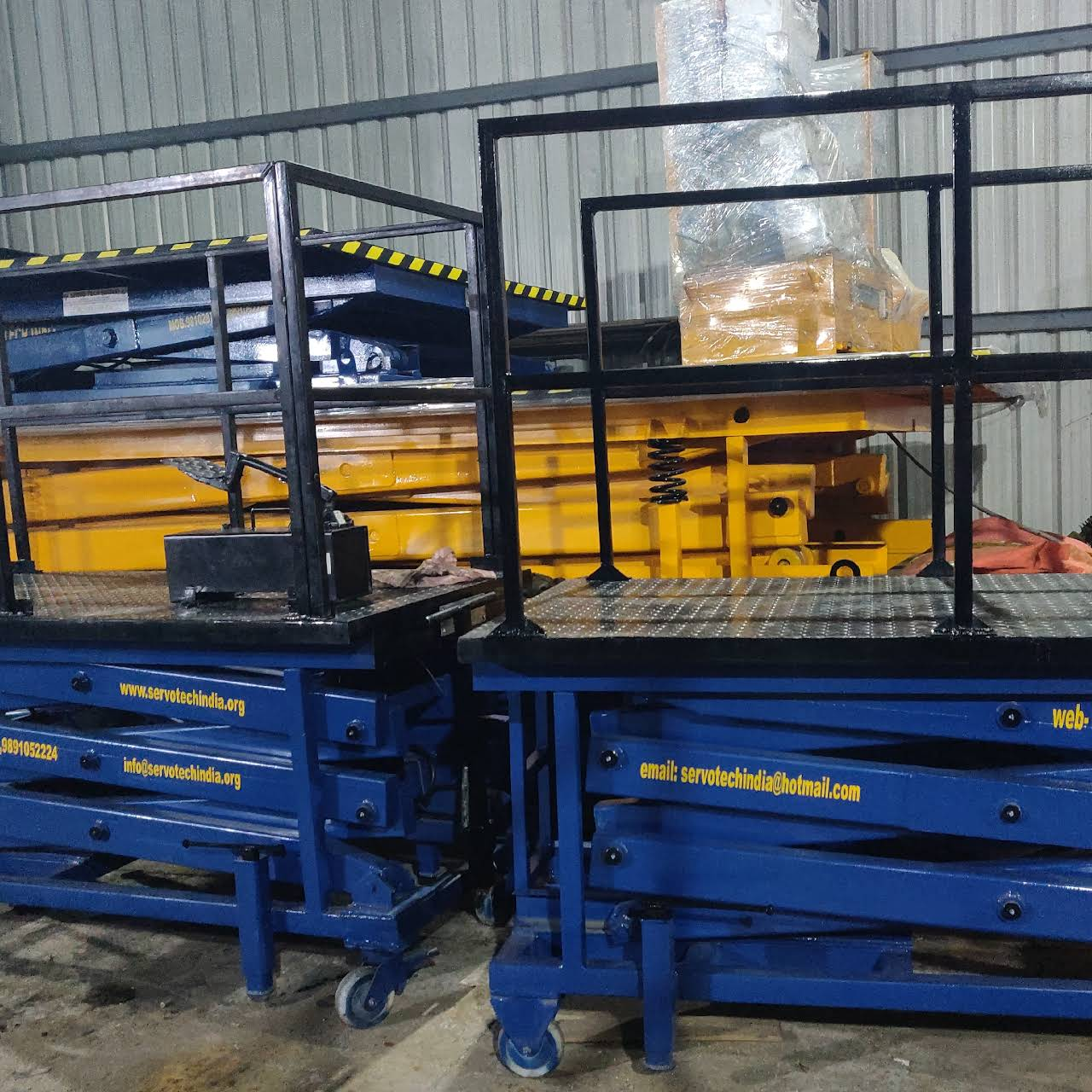 Servo Tech India - Manufacturer all type of material handling