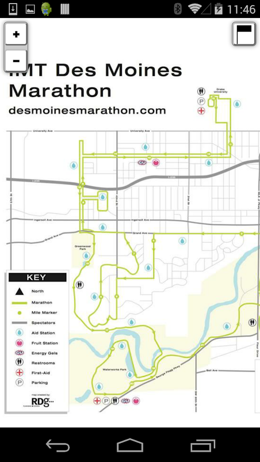 IMT Des Moines Marathon PRO - screenshot