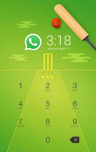 Cricket Dhoni AppLock theme