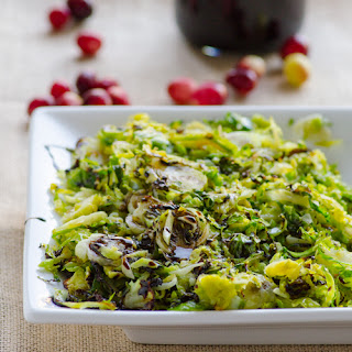 Coconut Brussels Sprouts with Balsamic Glaze Recipe