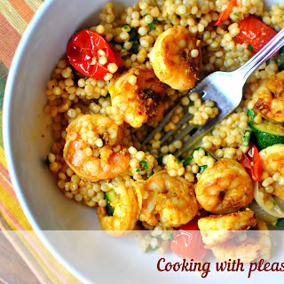 Couscous With Shrimp
