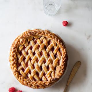 Apricot Raspberry Pie.