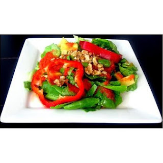 Pineapple Red Pepper Salad