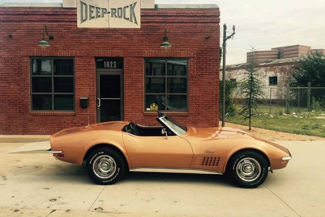1972 Chevrolet Corvette Hire Oklahoma City
