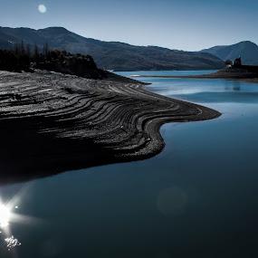 by Eden Meyer - Landscapes Mountains & Hills ( lake, landscape, curves,  )
