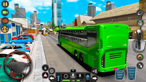Modern Bus Simulator Drive 3D: New Bus Games Free apkmr screenshots 10