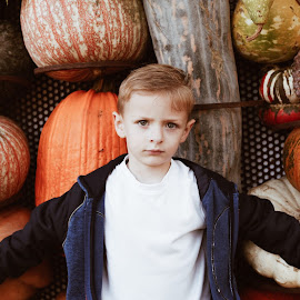 Alex the Bold by Jeremy White - Babies & Children Child Portraits ( kids pumpkin patch youth boys portraits )