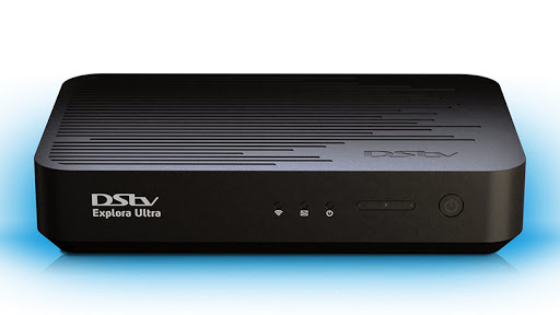 The DStv Explora Ultra decoder.