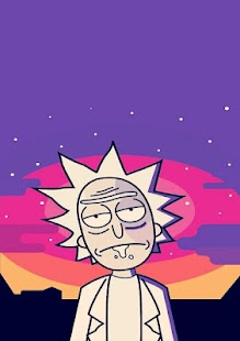 rick and morty portal wallpaper. - náhled