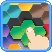 Hexagon Graph Puzzles: drag/drop six-side hexagons