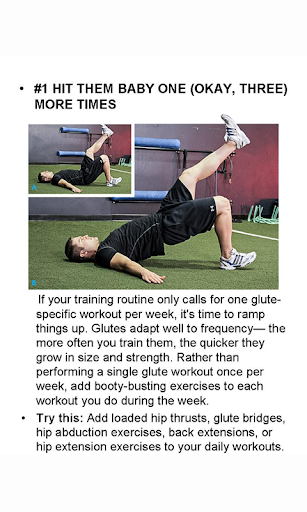 5 Must-Do Glute Workouts