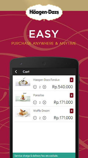 Häagen-Dazs Indonesia screenshot