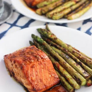 Spicy Baked Orange Salmon.