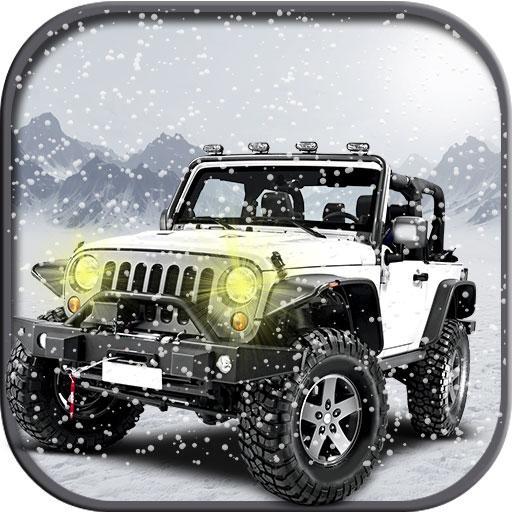4x4 Offroad Snow Prado Driving
