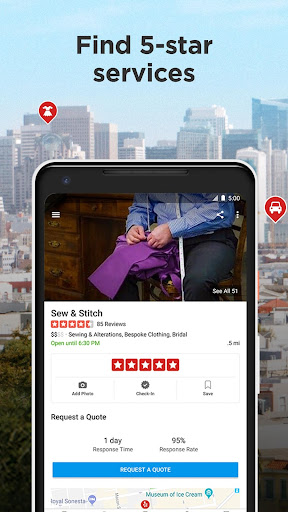 Yelp: Food, Shopping, Services Nearby  screenshots 4