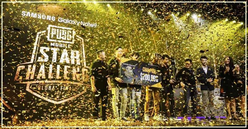 PUBG Mobile Star Challenge 2018 ทีมไทยคว้าแชมป์ รับทรัพย์กว่า 6.5 ล้านบาท
