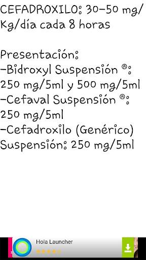 Dosis Pediatricas