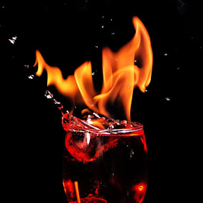 TOO HOT by Mervin Anto - Abstract Fire & Fireworks ( pwcfireworks, tabletop, drinks, fire )