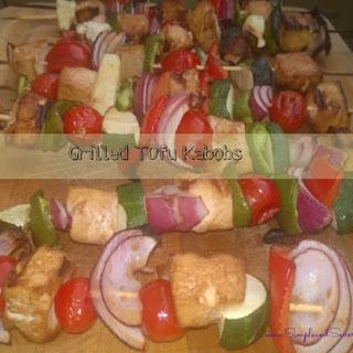 Grilled Tofu Kabobs