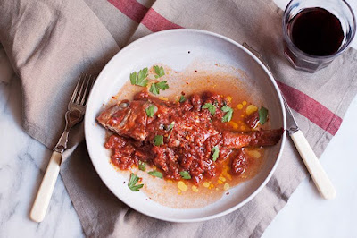 Cook a whole fish the traditional Tuscan way