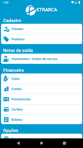 petrarca software mobile screenshot 3