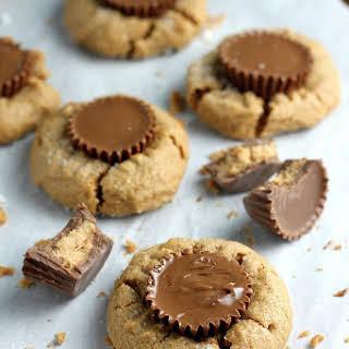 5-Ingredient Flourless Peanut Butter Blossoms.