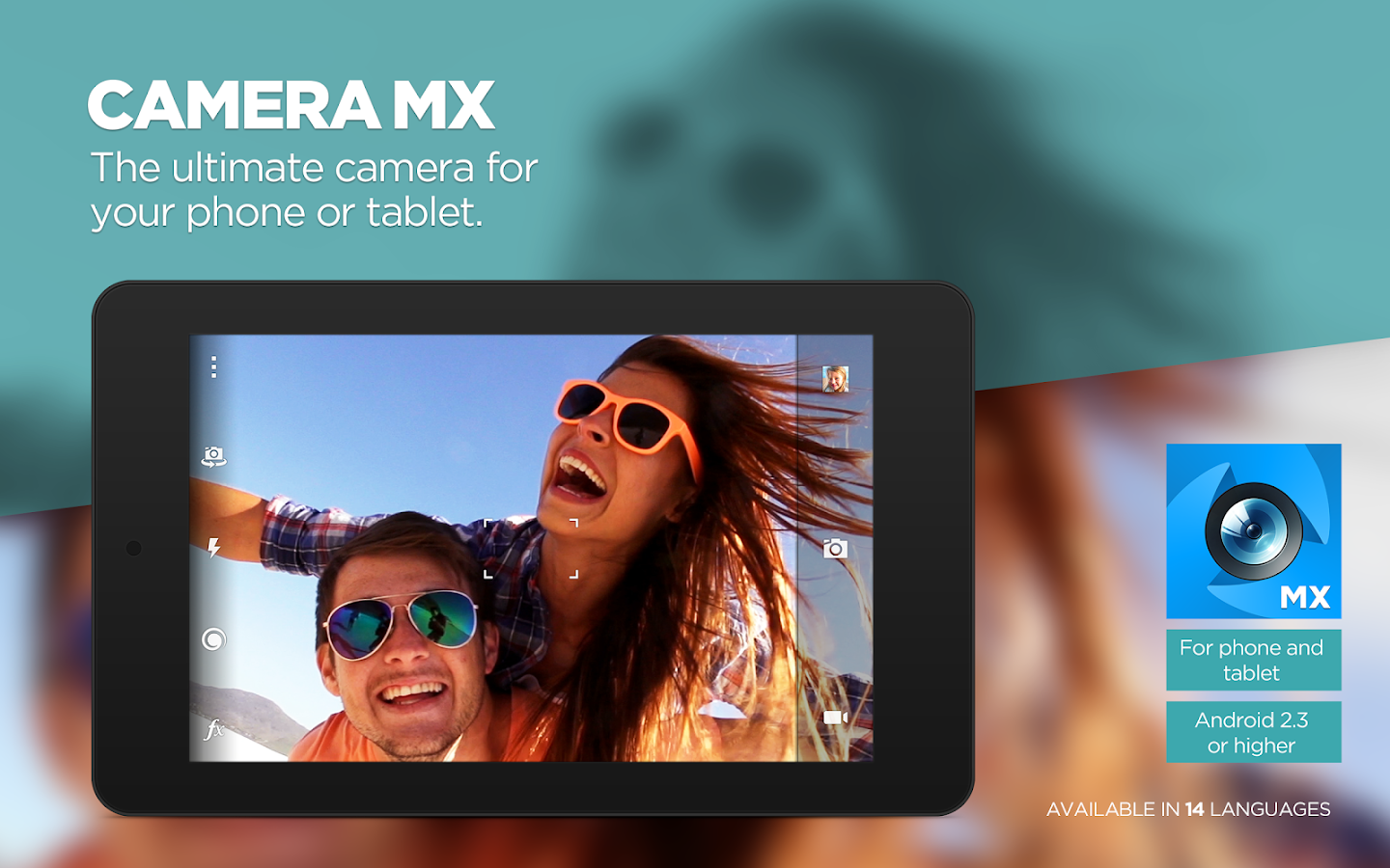 Camera MX - screenshot