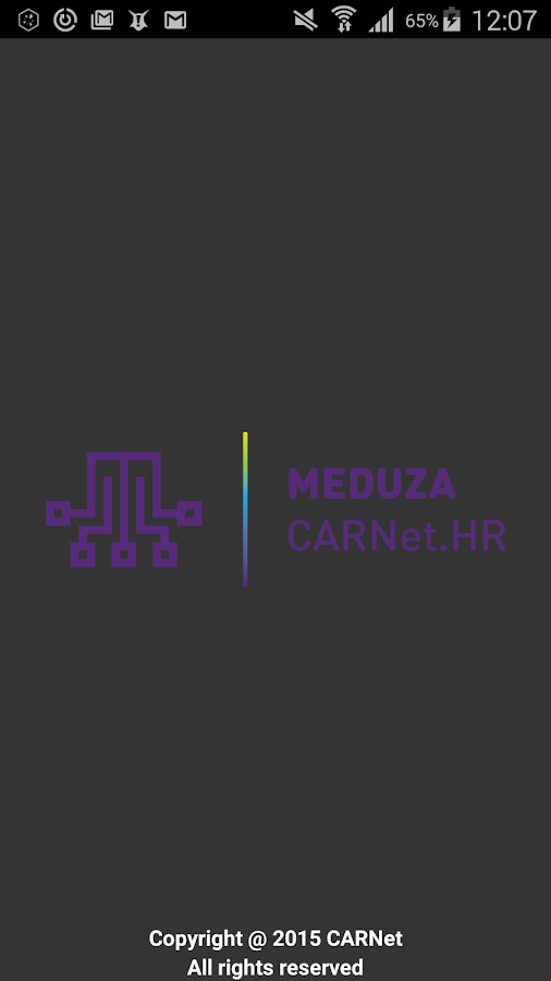 CARNet Meduza- screenshot