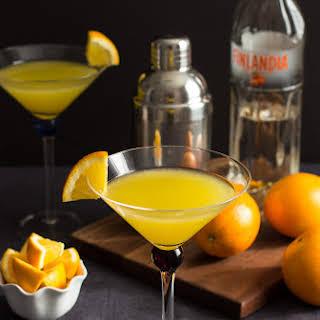 Vanilla Tangerine Martini.