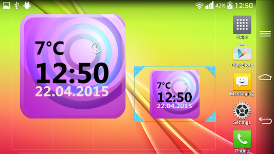 Weather Clock screenshot 6