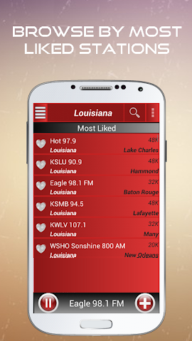 android A2Z Louisiana FM Radio Screenshot 2