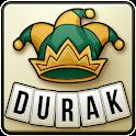 Durak online card game icon