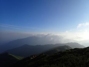 鹿島槍ヶ岳へ向かう