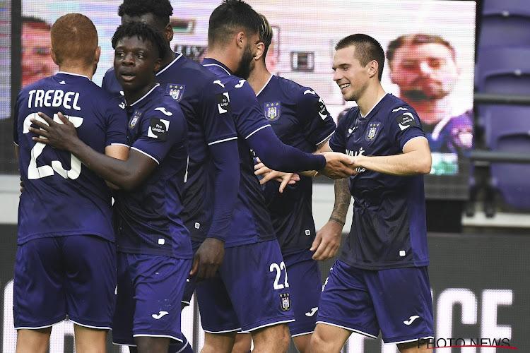 La sélection d'Anderlecht pour Ostende: avec les deux dernières recrues