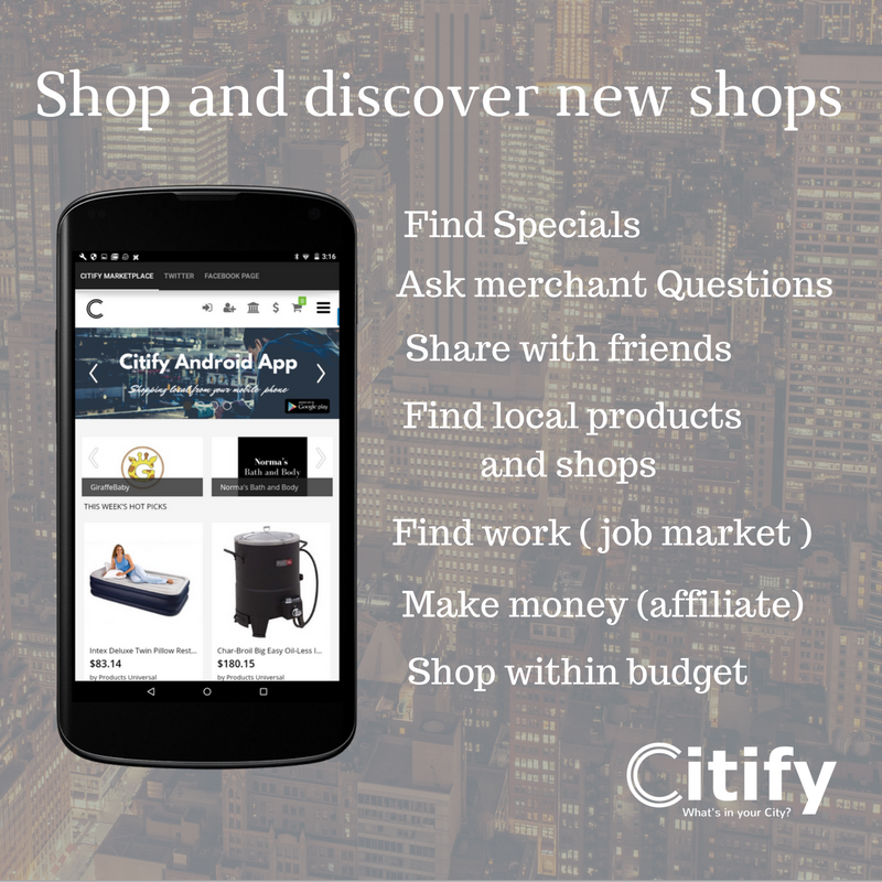 Citify Marketplace- screenshot