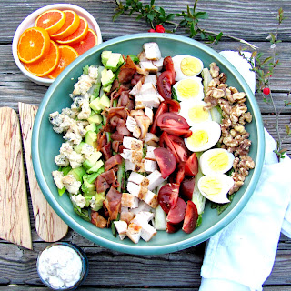 Deb's Grilled Cobb Salad