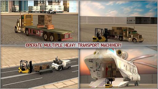 汽车货物运输直升机