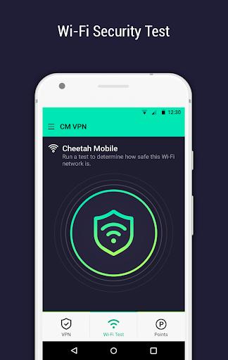 CM Security Open VPN - Free, fast unlimited proxy 1.5.7 screenshots 3