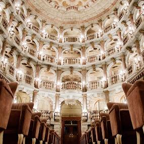 Teatro Bibiena  Mantova Italy by Pier Riccardo Vanni - Buildings & Architecture Other Interior (  )