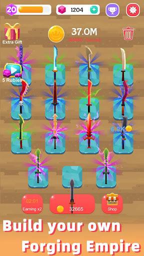 Merge Sword - Idle Blacksmith Master 1.3.4 screenshots 4