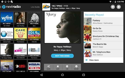 NextRadio - Free Live FM Radio Screenshot 9