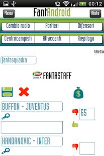 FantAndroid+ fantasy soccer - náhled